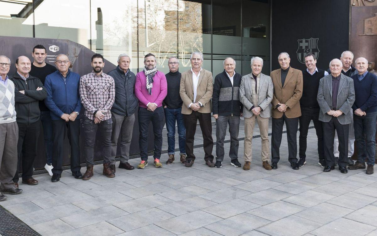 Primera reunió de la nova junta directiva de l'Agrupació