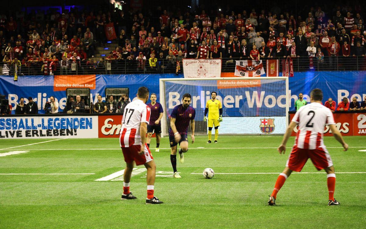 Dos jornadas de fútbol internacional en Berlín con participación azulgrana