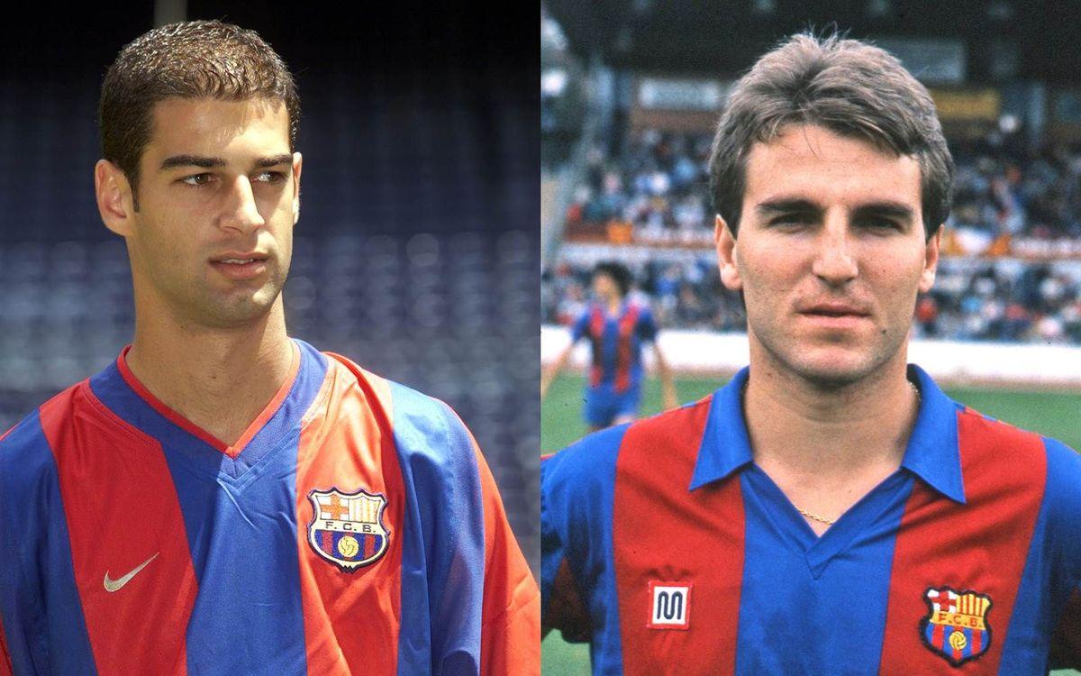 Robert Fernández y Gerard López: de Mestalla al Camp Nou