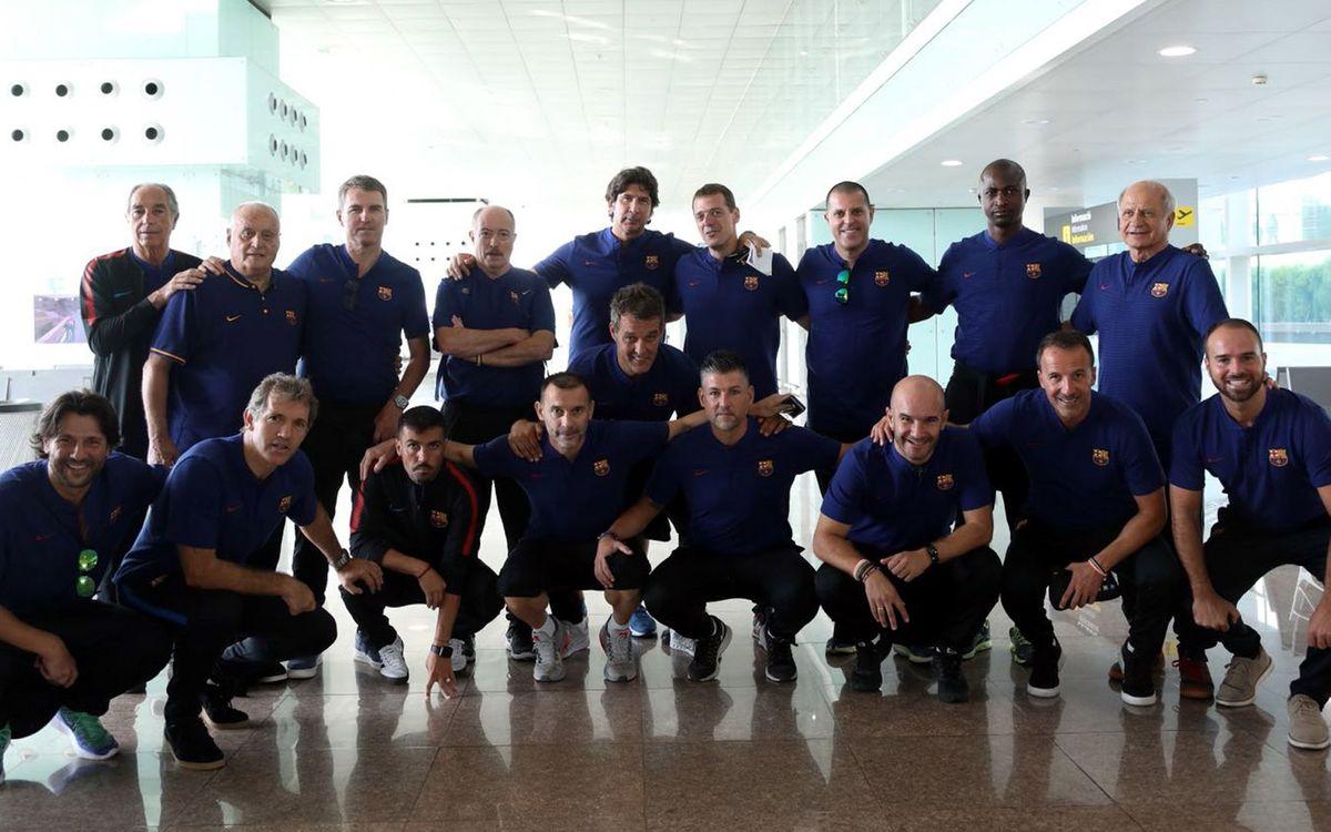 L'Agrupació juga divendres contra la selecció d'exjugadors d'Eslovàquia i la República Txeca