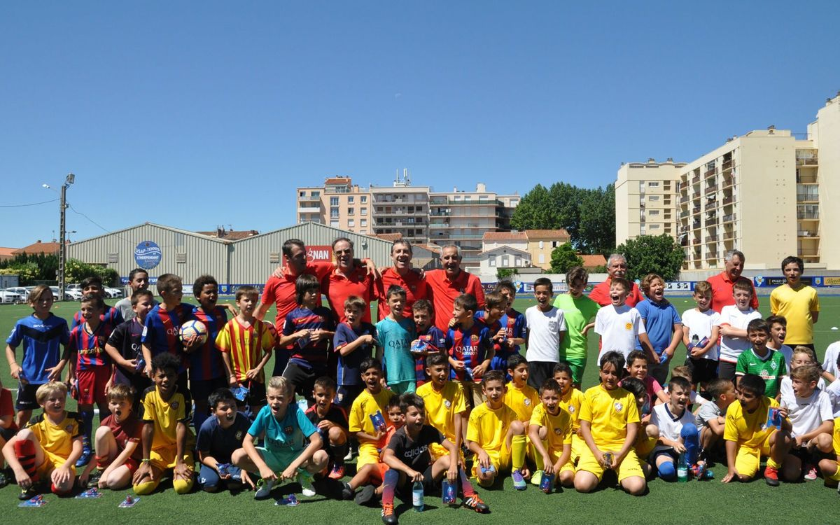 Barça Experience Mini, l'activitat de la Setmana Barça Jugadors pels més petits