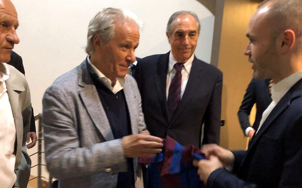 L'Agrupació també acomiada Andrés Iniesta