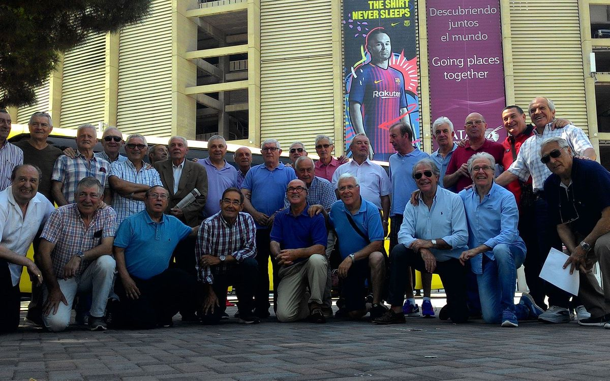 La Folga 65 abre la Setmana Barça Jugadors