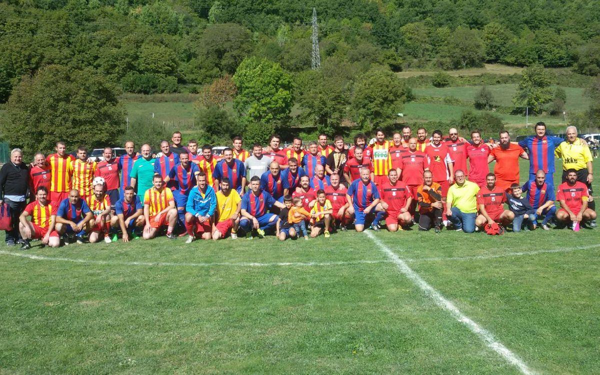 La ABJ juega un partido homenaje en el Valle de Boí
