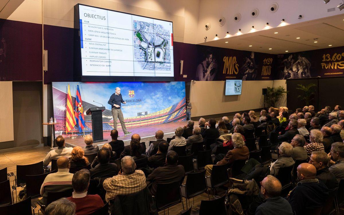 Una Agrupación integrada en el Espacio Barça