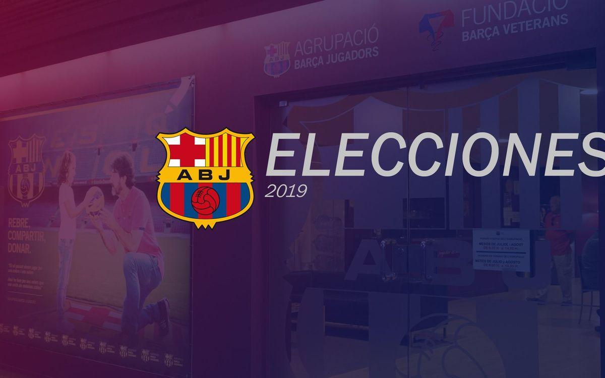 La candidatura de Ramon Alfonseda, la única que se presenta a las elecciones a la ABJ