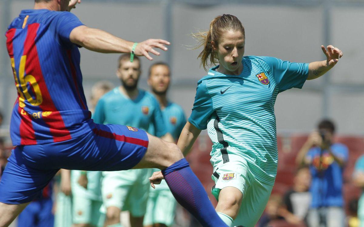 Comiat de temporada esportiva al Camp Nou