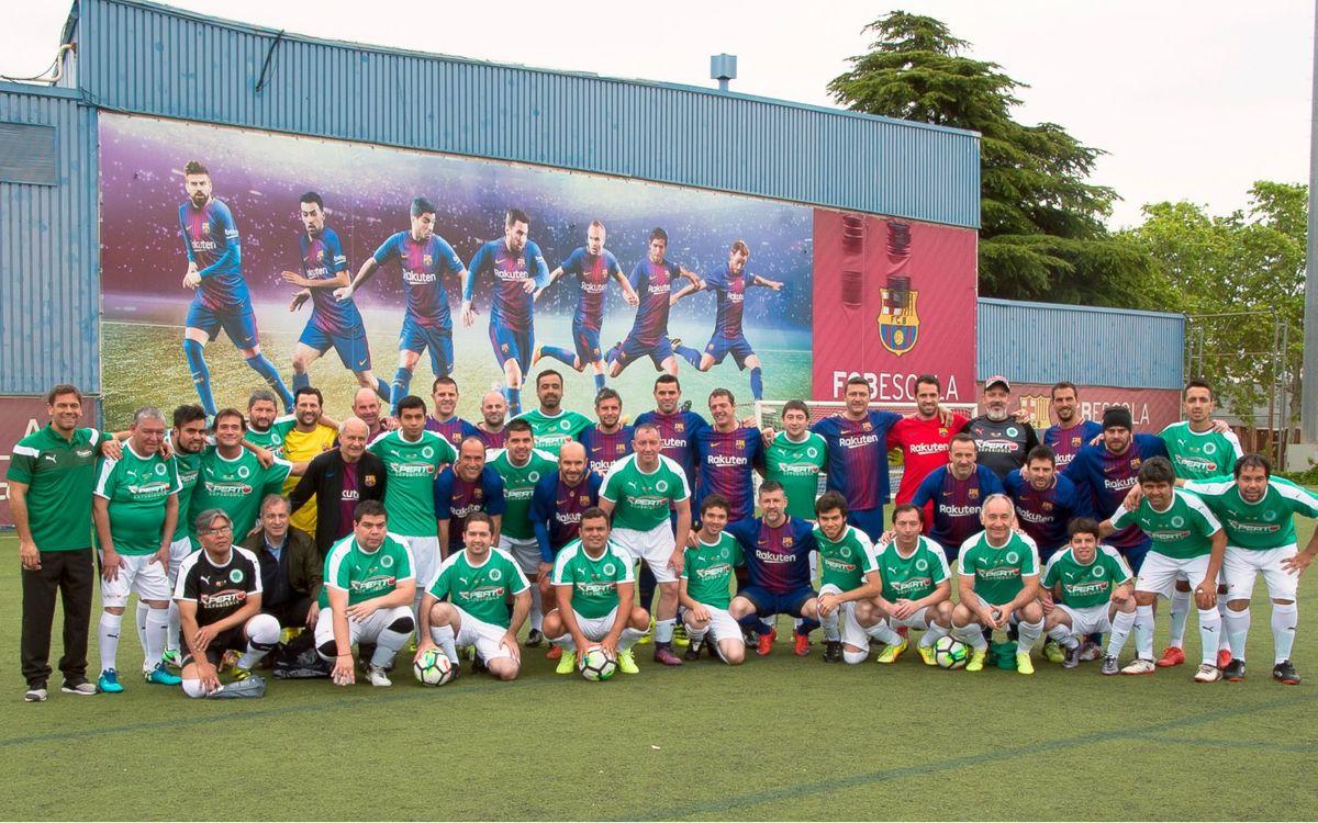 El equipo ABJ se enfrenta a un equipo chileno