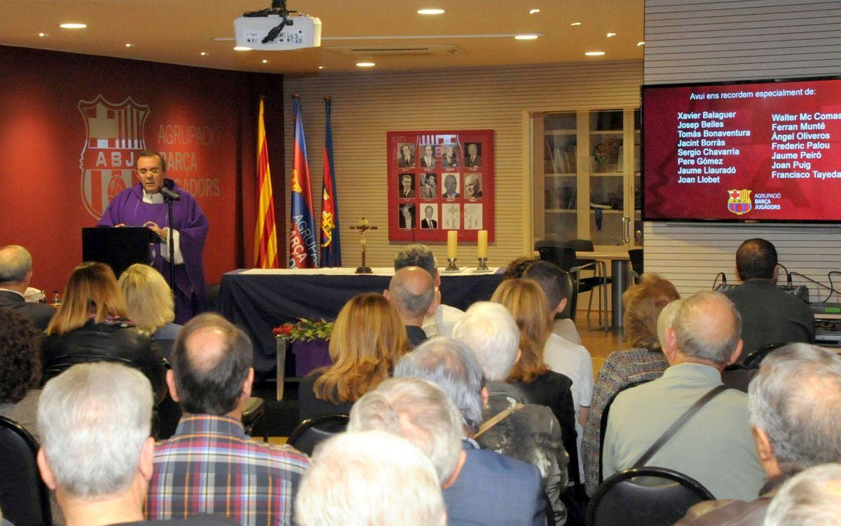 L'Agrupació celebra una missa per recordar els seus socis i simpatitzants
