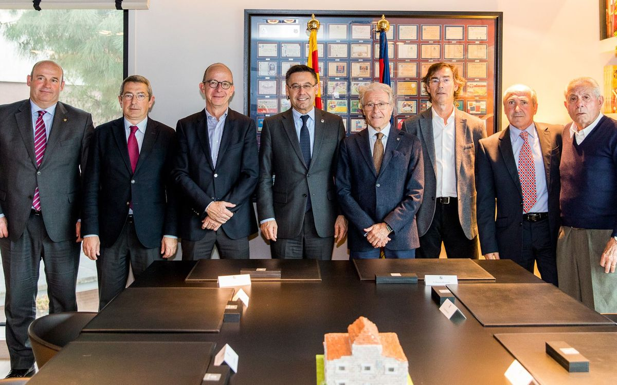 FC Barcelona and the Barça Players Association consolidate their relationship with a new agreement