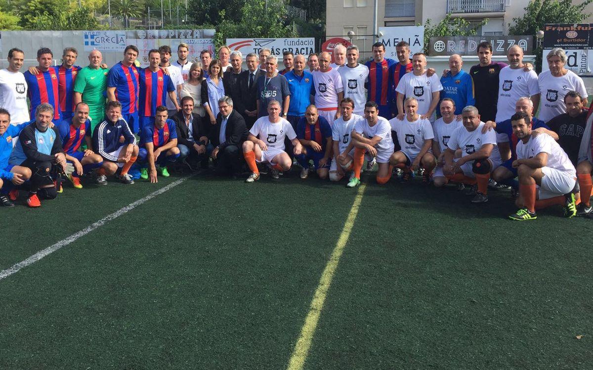 L'Agrupació participa en l'homenatge a l'exdirectiu del Barça, Luis del Val