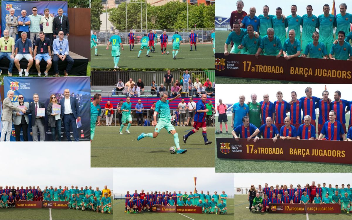 La 17a Trobada Barça Jugadors va reunir prop de 300 persones