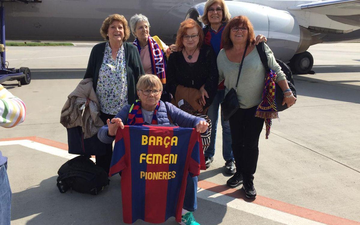 Les Pioneres del Barça viatgen a Budapest de la mà de la ABJ i l'FC Barcelona.