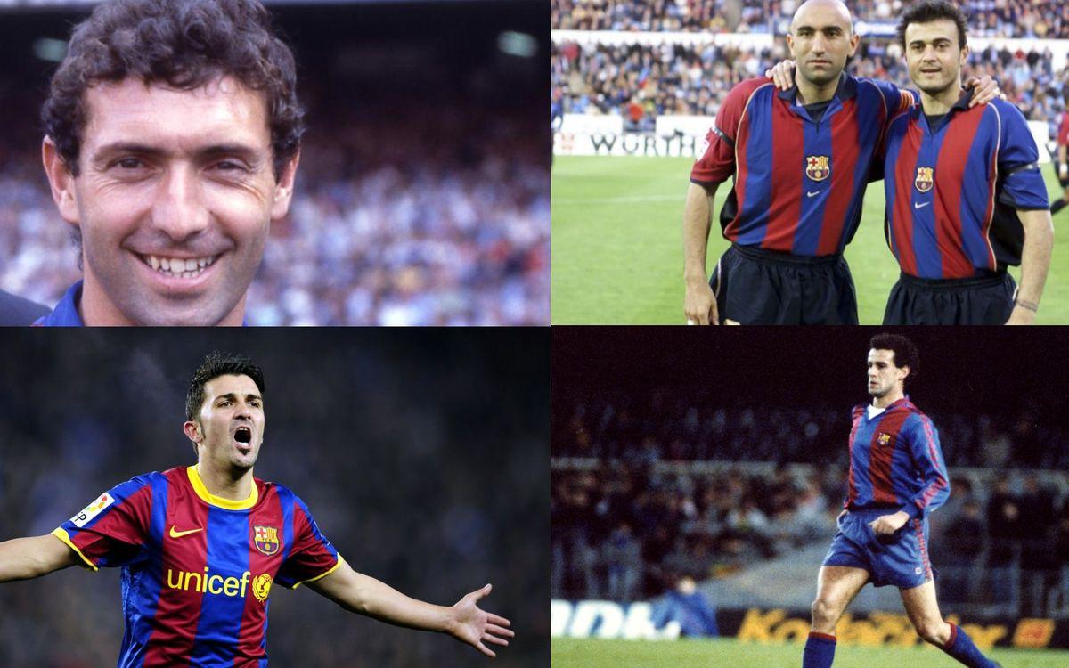 Els asturians del Barça, en retrospectiva