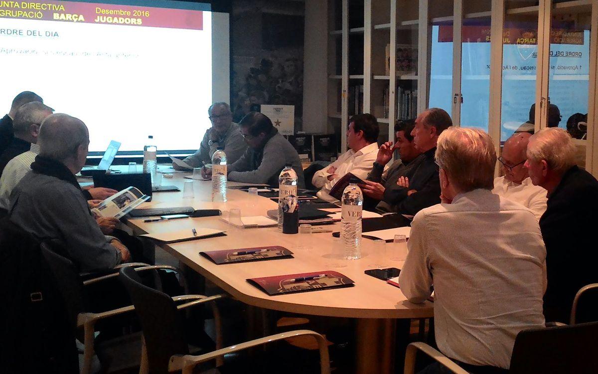 Reunión de la junta directiva de la ABJ