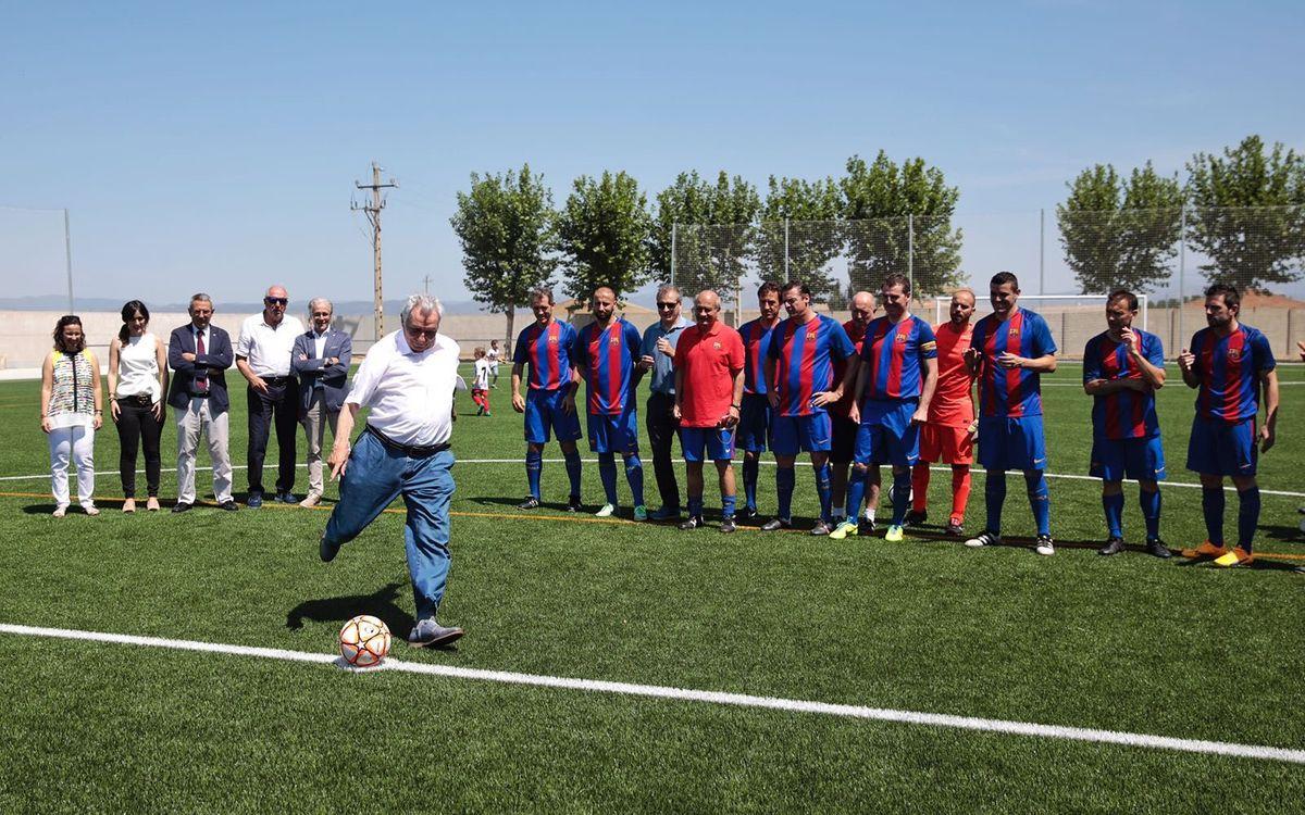 La Agrupación acompaña a Josep Maria Fusté en su homenaje