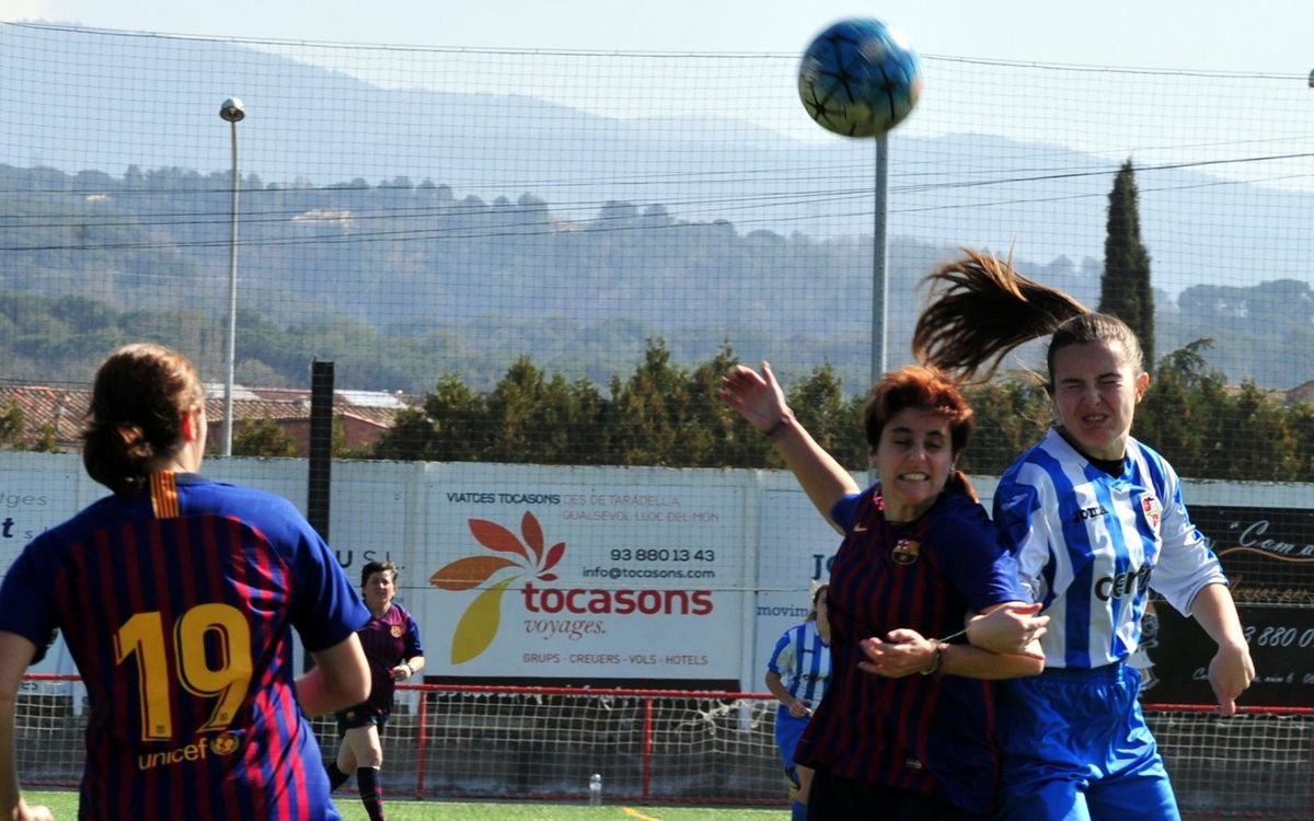 La ABJ reivindica el fútbol femenino con un Triangular en Taradell