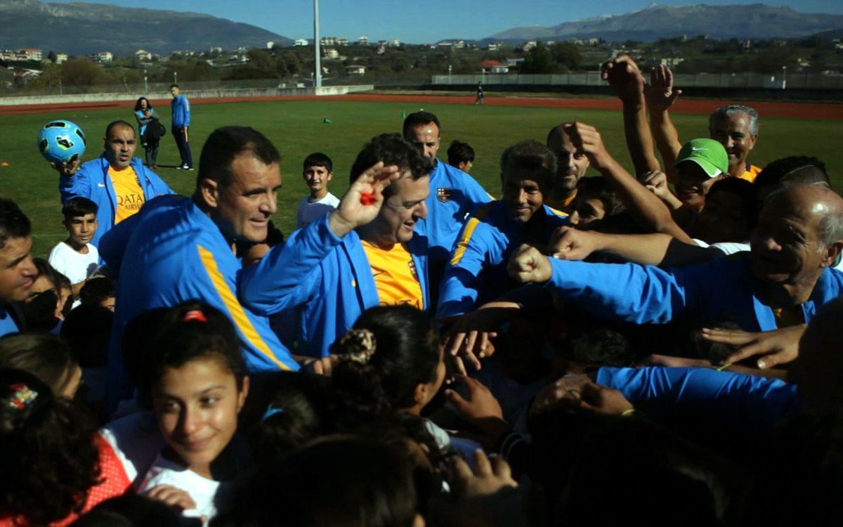 L'experiència dels exjugadors a Grècia, per Barça TV
