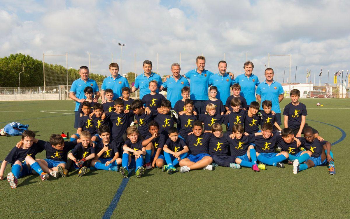 De mayores a pequeños: Barça Mine Experience a la Semana Barça Jugadores 2018