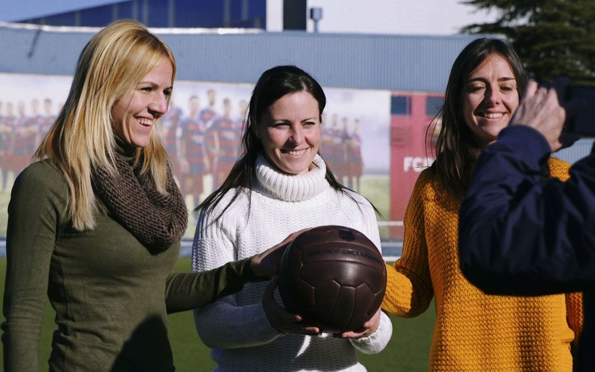 Las nuevas exjugadoras que se han hecho miembros de la ABJ, domingo en Barça TV