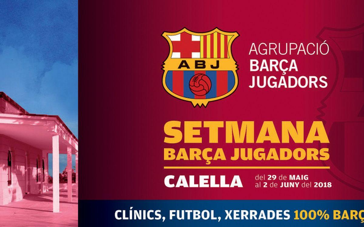 A punt per a la Setmana Barça Jugadors a Calella