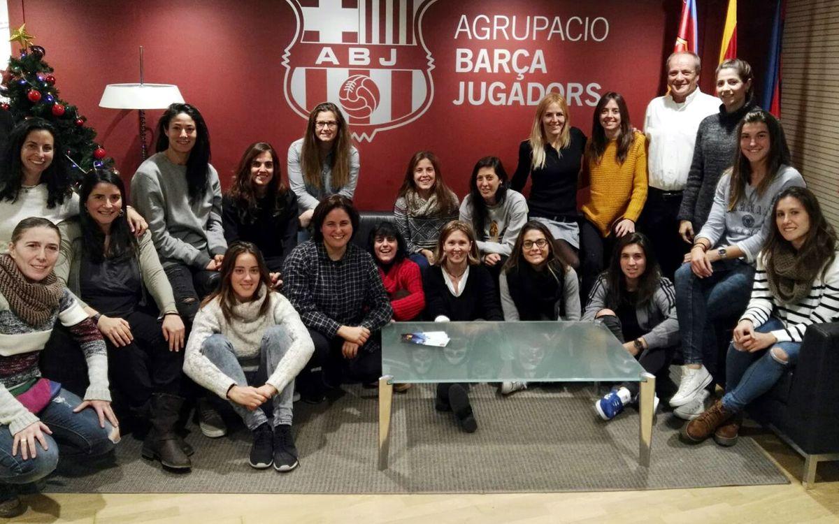 L'Agrupació Barça Jugadors creix amb la incorporació de 32 jugadores i exjugadores del FCB Futbol Femení