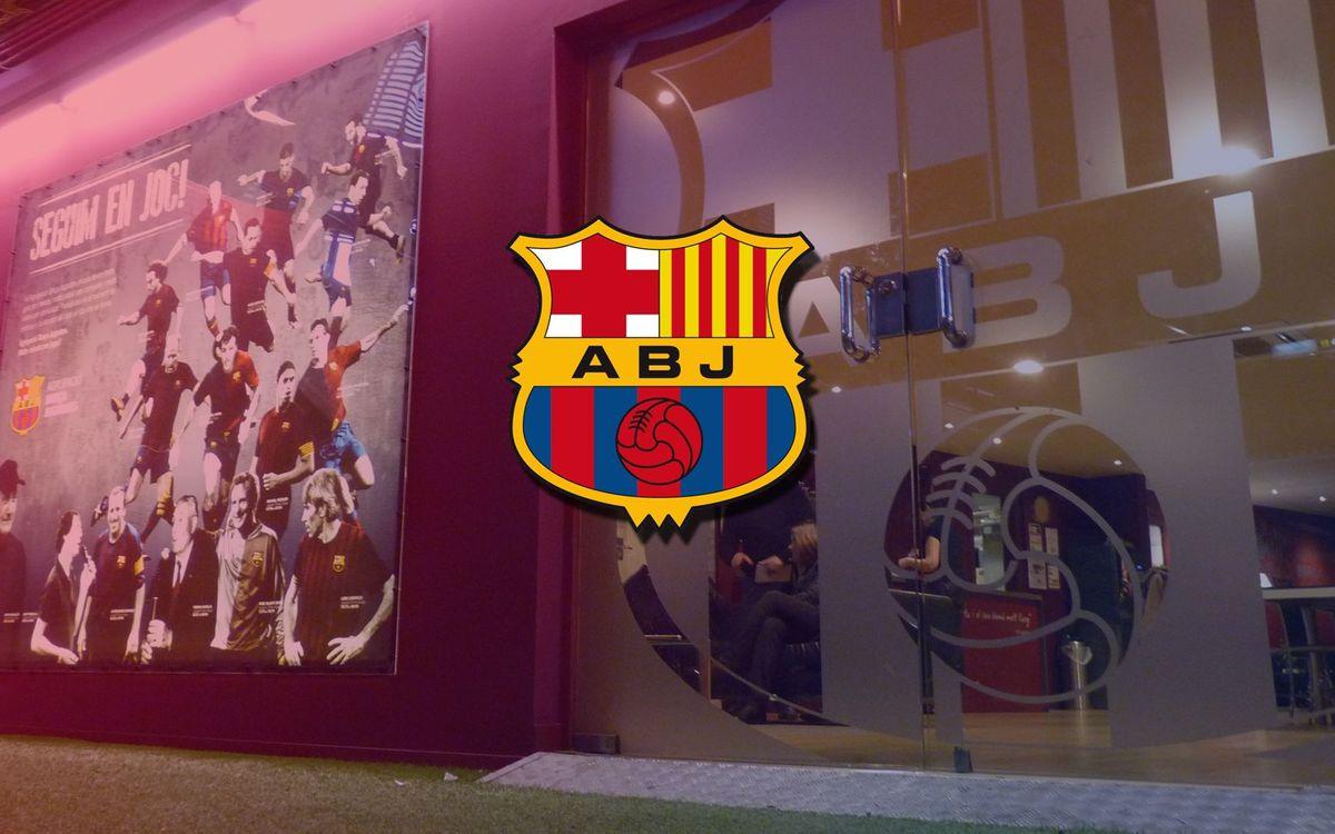 La Agrupación Barça Jugadores celebra su aniversario en el Día ABJ
