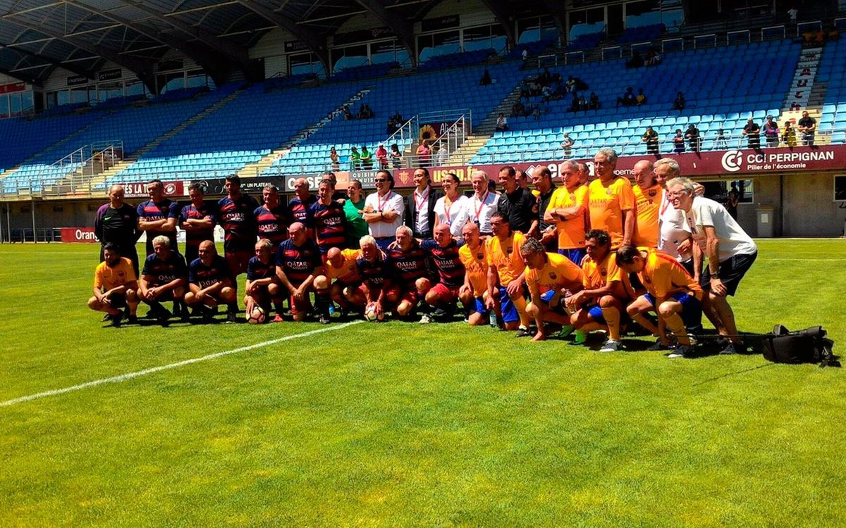 Més de 150 exjugadors blaugrana se citen a la Trobada Barça Jugadors