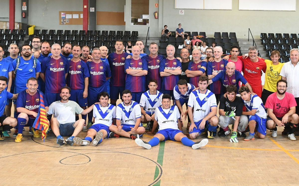 Donem suport al futbol inclusiu