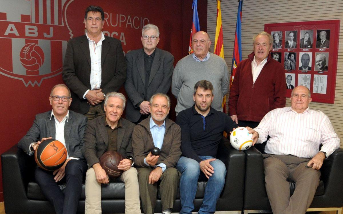 L'ABJ reuneix les associacions de veterans de les seccions professionals del FCB