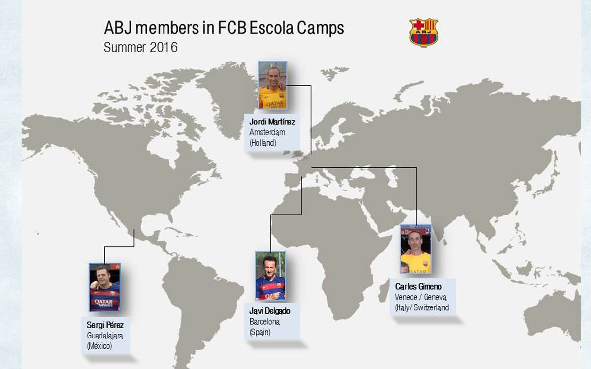 4 BPA members take part in FCB Escola camps