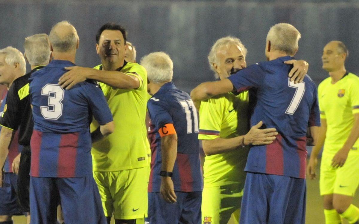 La Agrupación juega un amistoso contra exjugadores internacionales daneses