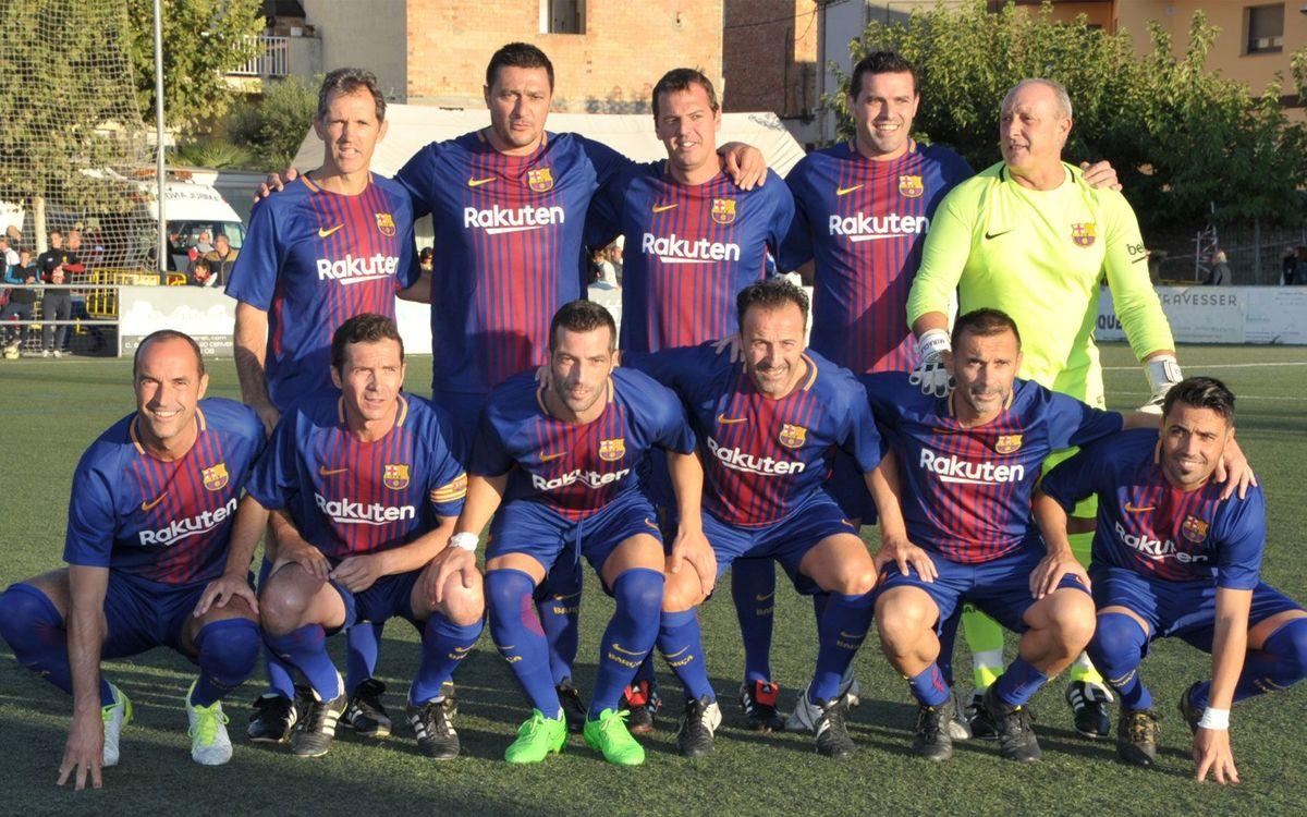Cervera commemora els 100 anys de futbol a la ciutat amb l'Agrupació