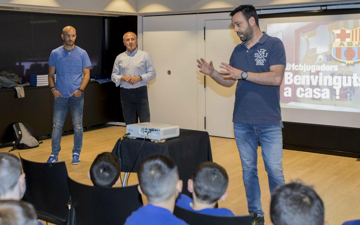 Tente Sánchez participa del projecte Identitat Barça