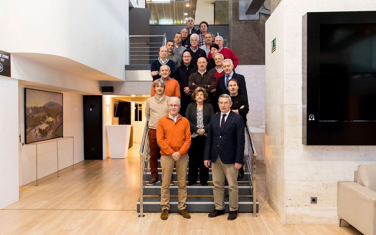 Nueva jornada de formación para los exjugadores del Club que participan en actos de Peñas Barcelonistas