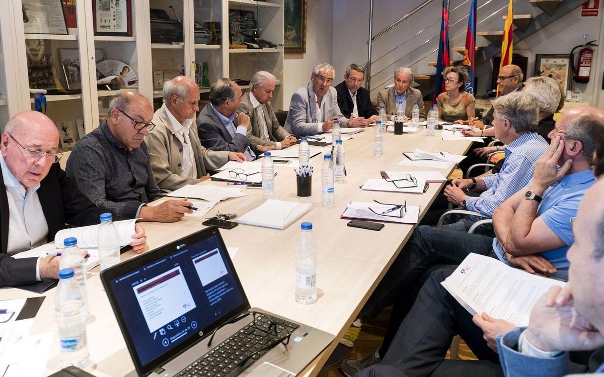 La Fundación Barça Veterans reúne al Patronato