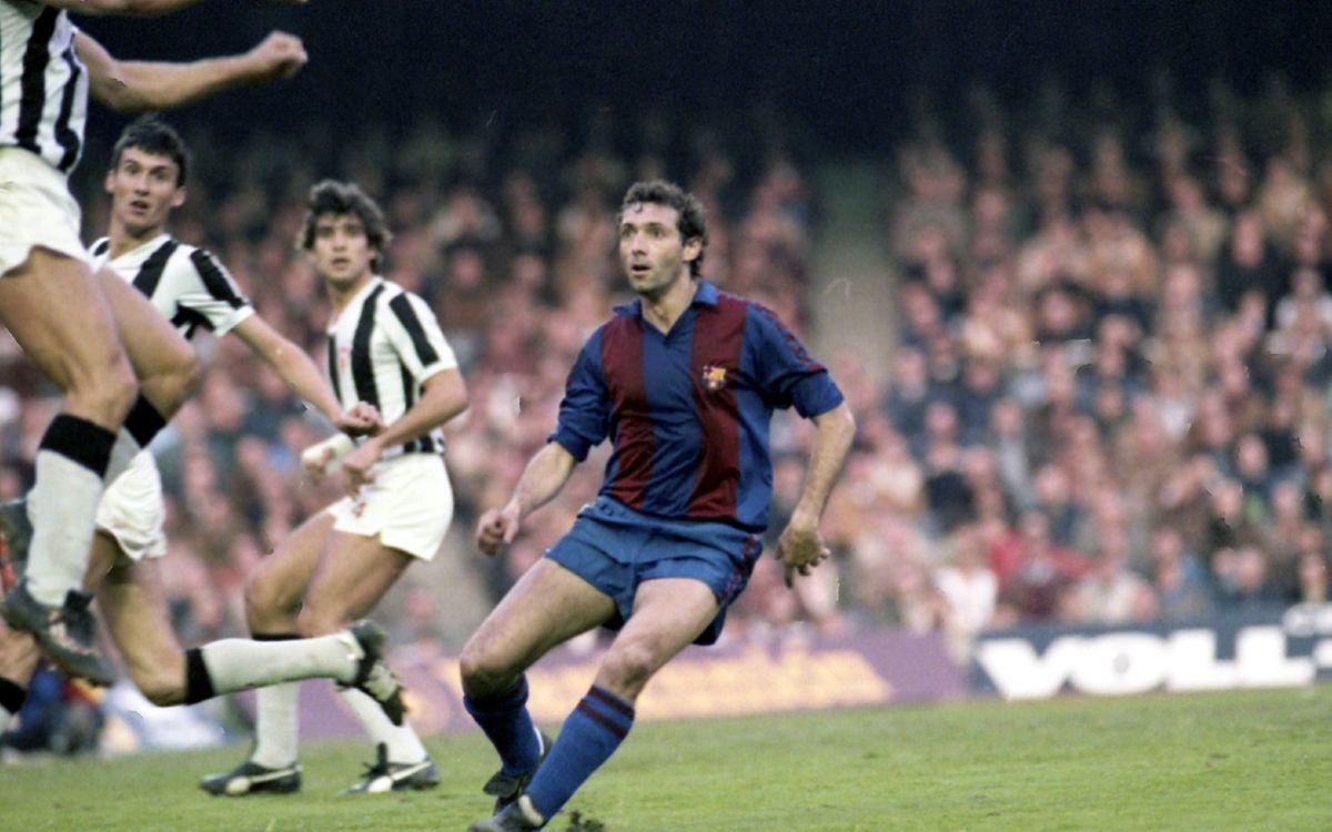 35 años del gol 3000 del Barça, el cabezazo de Quini contra el Castellón