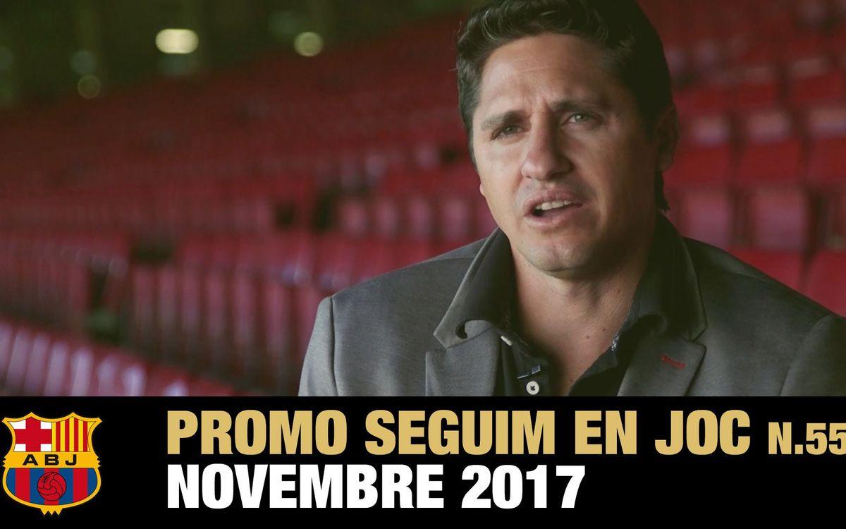 Pichi Alonso, Edmílson i el Camp Nou, els protagonistes del Seguim en Joc