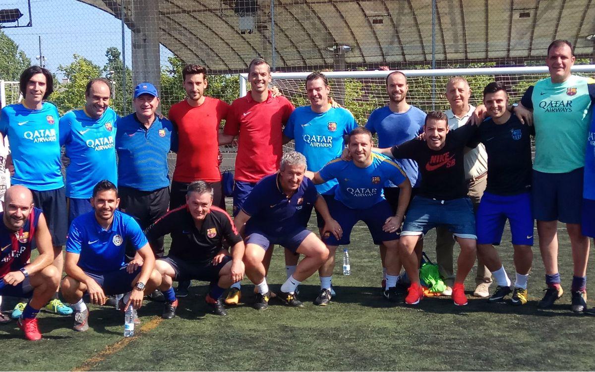 Creix la demanda de formació en clau Barça per als exjugadors