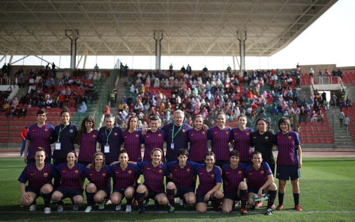 El ABJ Femenino juega en Marruecos su segundo partido internacional