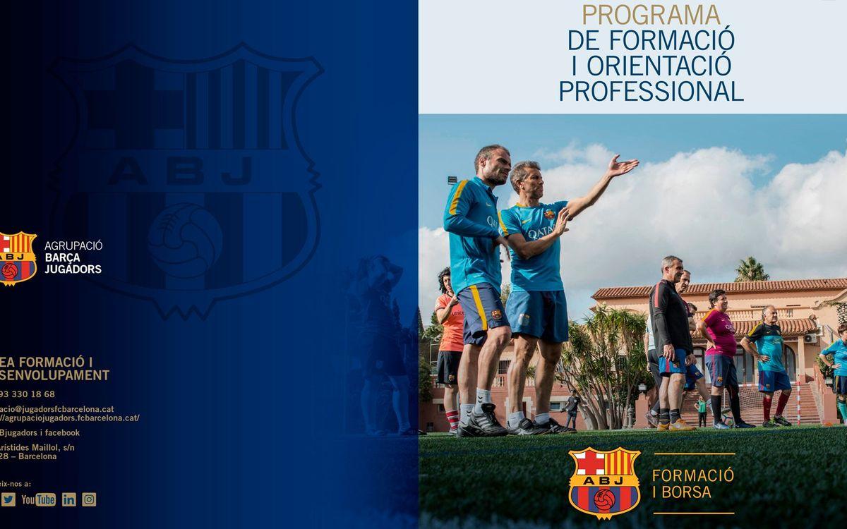 La Agrupación lanza la nueva propuesta formativa para los exjugadores del Barça