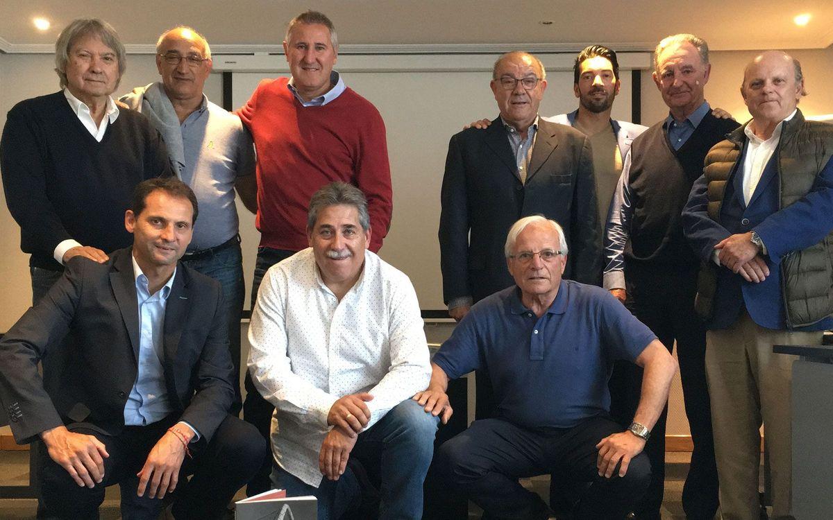 La Agrupación asiste a la reunión de la FEAFV