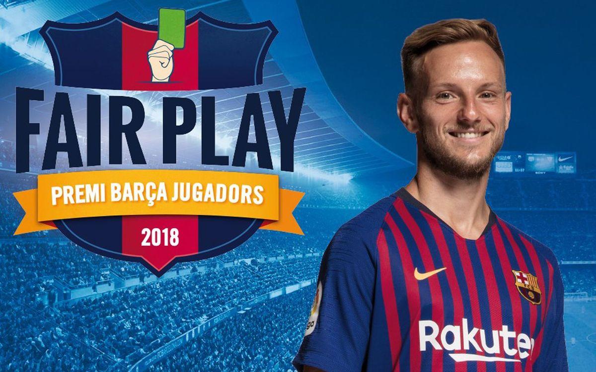 Ivan Rakitic rebrà aquest divendres el Premi Barça Jugadors