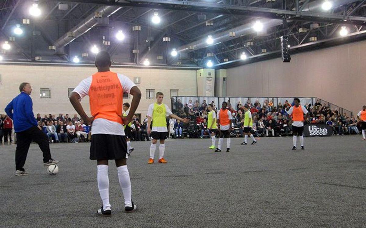 La Agrupació asiste a la convención de fútbol más importante de los EEUU
