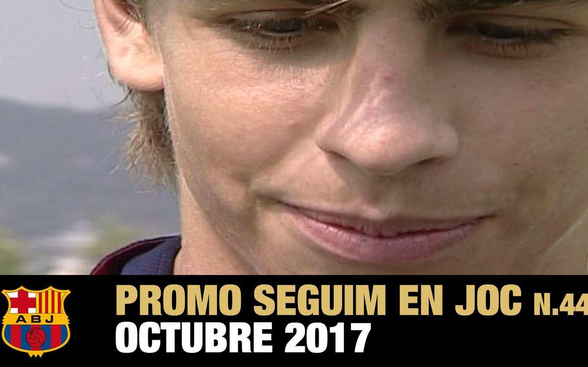 Cinquena temporada amb presència de l'Agrupació a Barça TV
