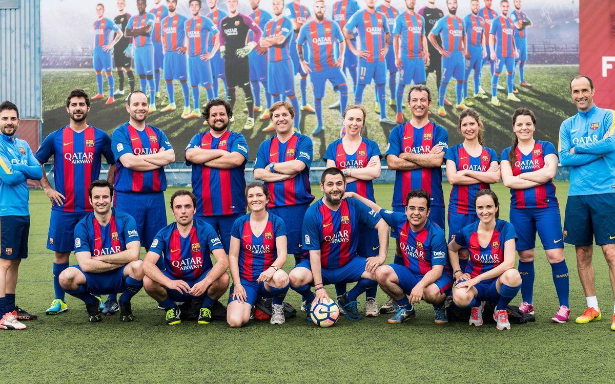La Agrupación inicia 'Coach Values', una nueva oportunidad de consultoría para los exjugadores del Barça