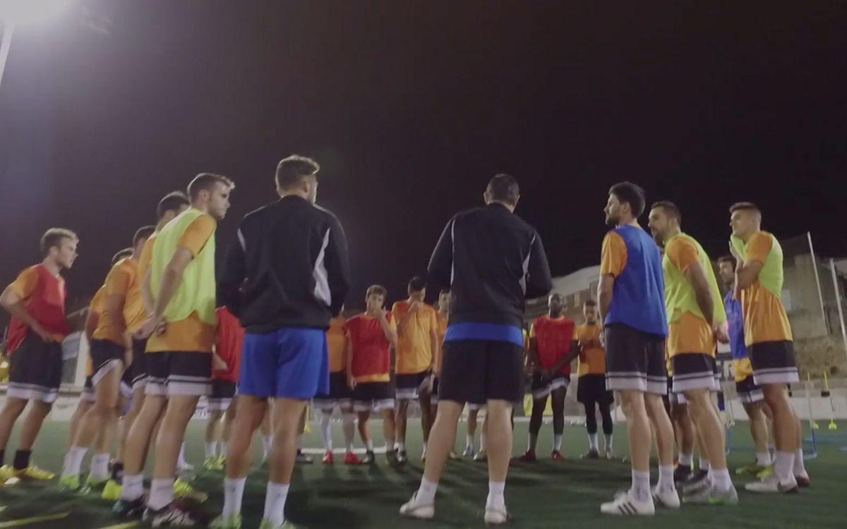 L'Agrupació Barça Jugadors acompanya l'exjugador del Club en la seva transició professional