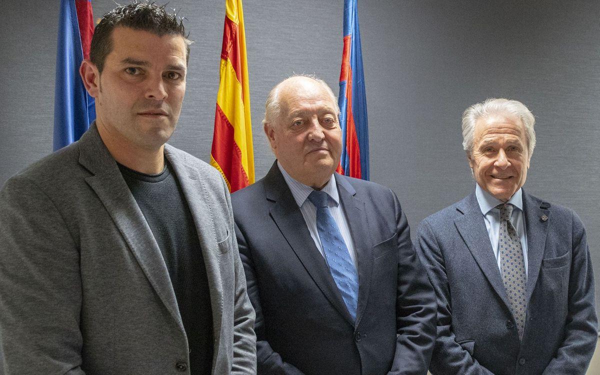Trobada de l'Agrupació amb la Federació Catalana de Futbol