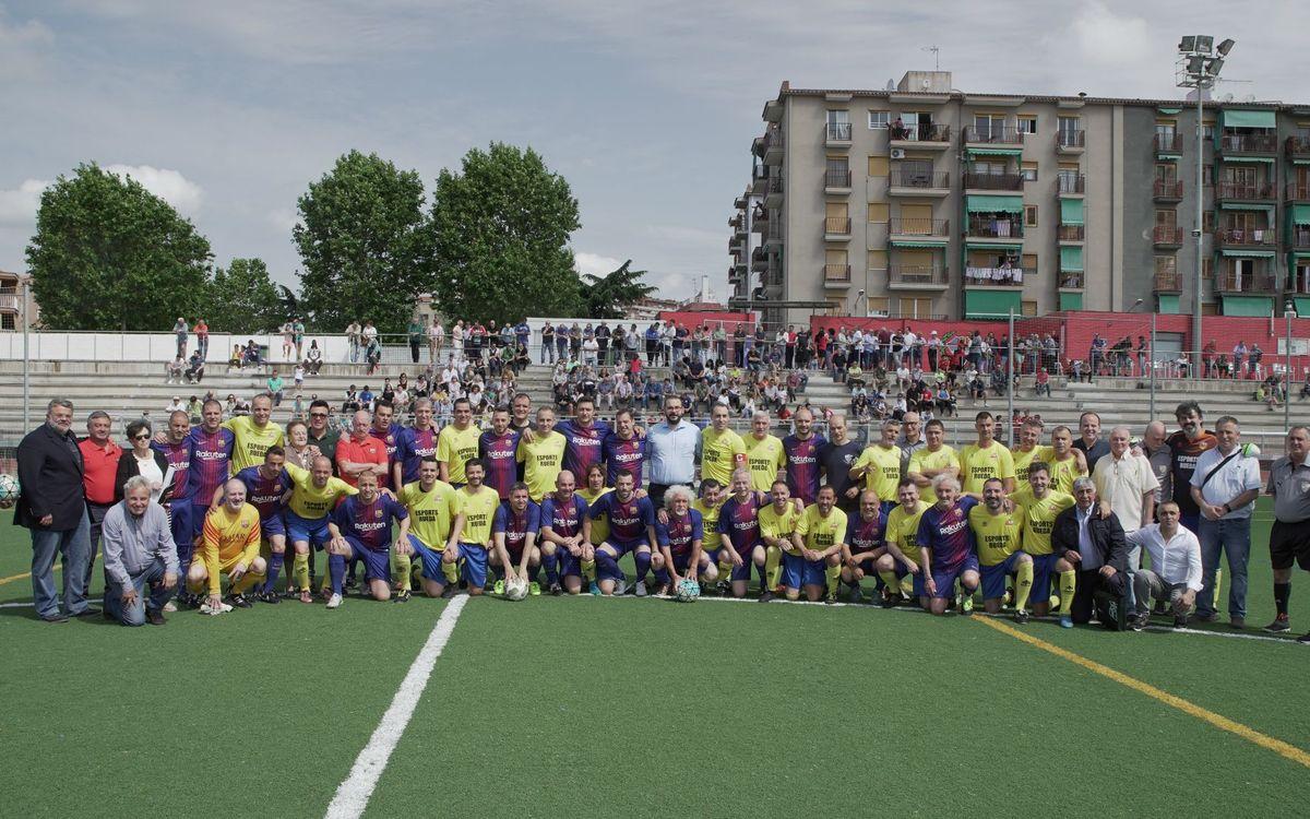 El equipo ABJ, en Mataró contra el Alzheimer