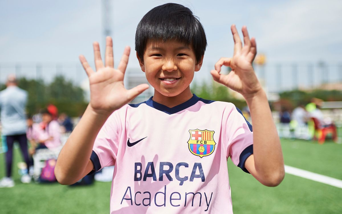 Barça Academy project announces its 50th football school in the world